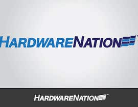 #359 za Logo Design for HardwareNation.com od tiffont