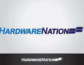 #411 untuk Logo Design for HardwareNation.com oleh tiffont