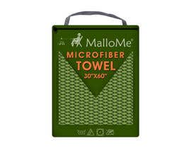 Nro 32 kilpailuun EYE Catching Bag Design for Microfiber Towel Bag käyttäjältä kalart
