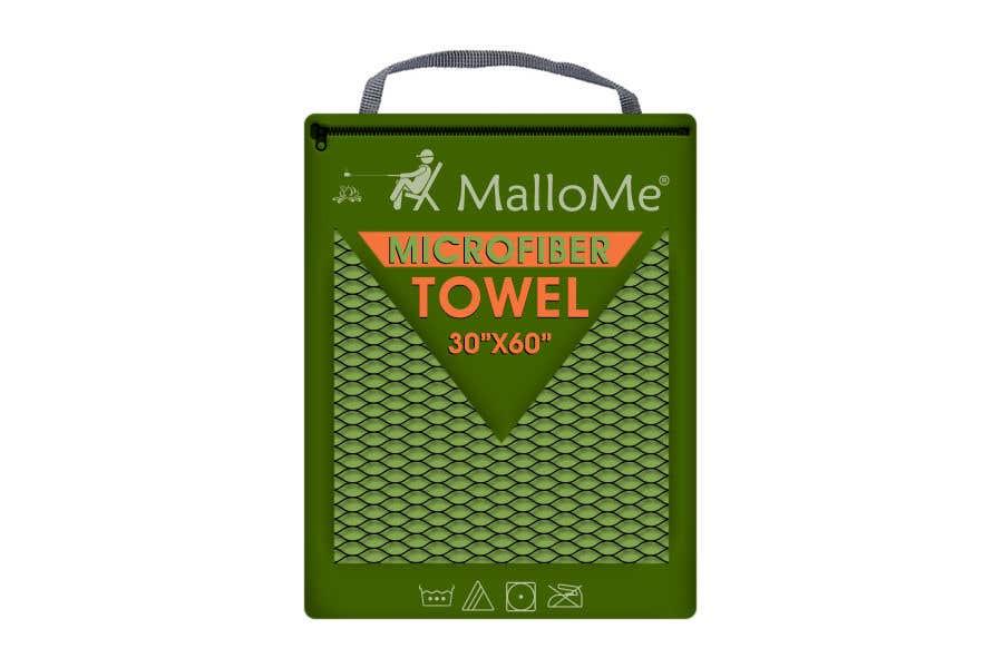 Kilpailutyö #34 kilpailussa EYE Catching Bag Design for Microfiber Towel Bag