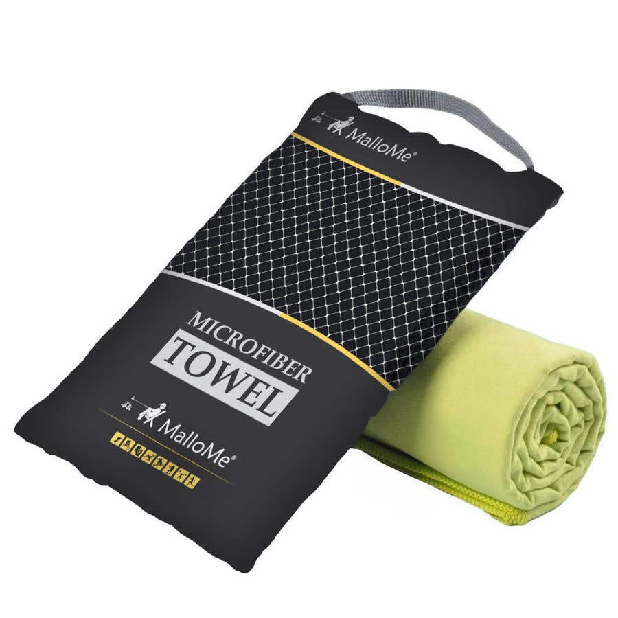 Kilpailutyö #14 kilpailussa EYE Catching Bag Design for Microfiber Towel Bag