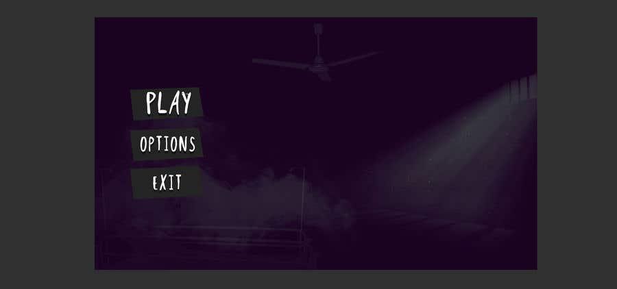 Konkurrenceindlæg #12 for Design a main menu for a horror game