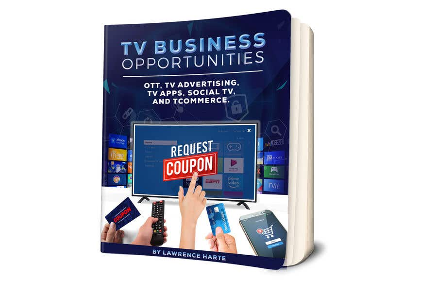 Proposition n°79 du concours Create a Front Book Cover Image about New TV Business Opportunities