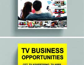 #54 for Create a Front Book Cover Image about New TV Business Opportunities by kashmirmzd60