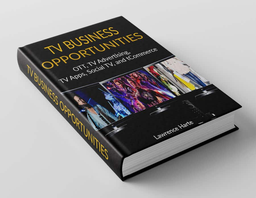 Proposition n°27 du concours Create a Front Book Cover Image about New TV Business Opportunities