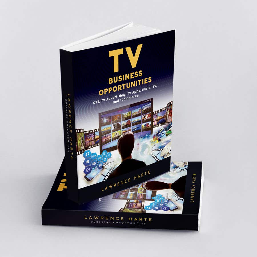Bài tham dự cuộc thi #34 cho Create a Front Book Cover Image about New TV Business Opportunities