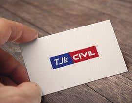 #33 cho logo design for TJK Civil bởi romzana75