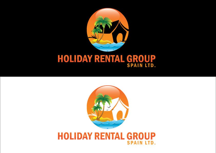 "Penyertaan Peraduan #16 untuk Logo Design for ""Holiday Rental Group Spain Ltd."""