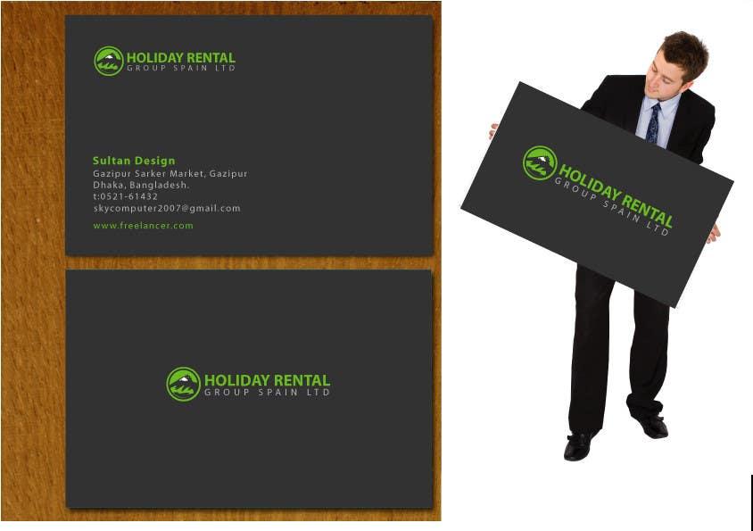 """Penyertaan Peraduan #7 untuk Logo Design for """"Holiday Rental Group Spain Ltd."""""""