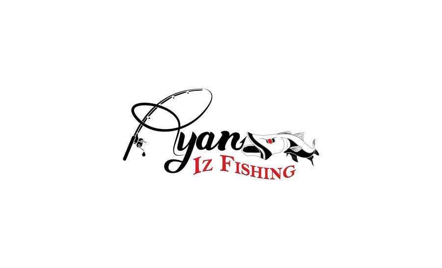 """Kilpailutyö #411 kilpailussa Create a Fishing Logo """"RYAN IZ FISHING"""""""