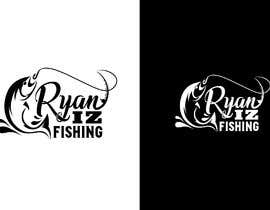 "#339 for Create a Fishing Logo ""RYAN IZ FISHING"" by debasish386"