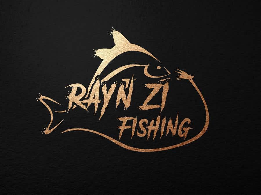 """Kilpailutyö #187 kilpailussa Create a Fishing Logo """"RYAN IZ FISHING"""""""