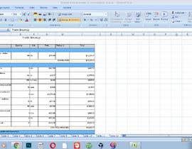 #28 for Build me a excel Project Plan af momin4444