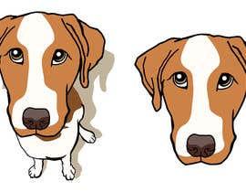 Nro 8 kilpailuun Create a 2D  brand character inspired by a type of dog käyttäjältä reddmac