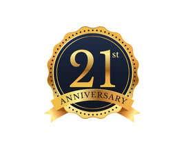 #4 untuk 21st Anniversary Logo oleh NancyWahid00