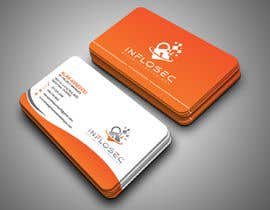 #515 for Business Card Design for IT Security Company by abdulmonayem85