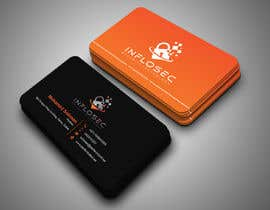 #517 for Business Card Design for IT Security Company by abdulmonayem85
