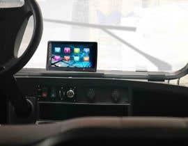 #30 para Photoshop touch screen on to dashboard of golf cart por Creative3dArtist
