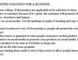 Nro 4 kilpailuun Quick Marketing strategy käyttäjältä dinaiffarina