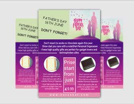 #29 untuk Need a flyer designed for Fathers Day Promotion oleh NSGraphicDesing