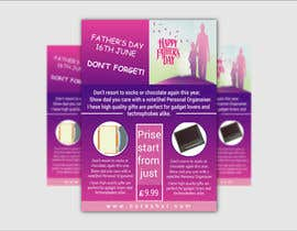 #30 untuk Need a flyer designed for Fathers Day Promotion oleh NSGraphicDesing