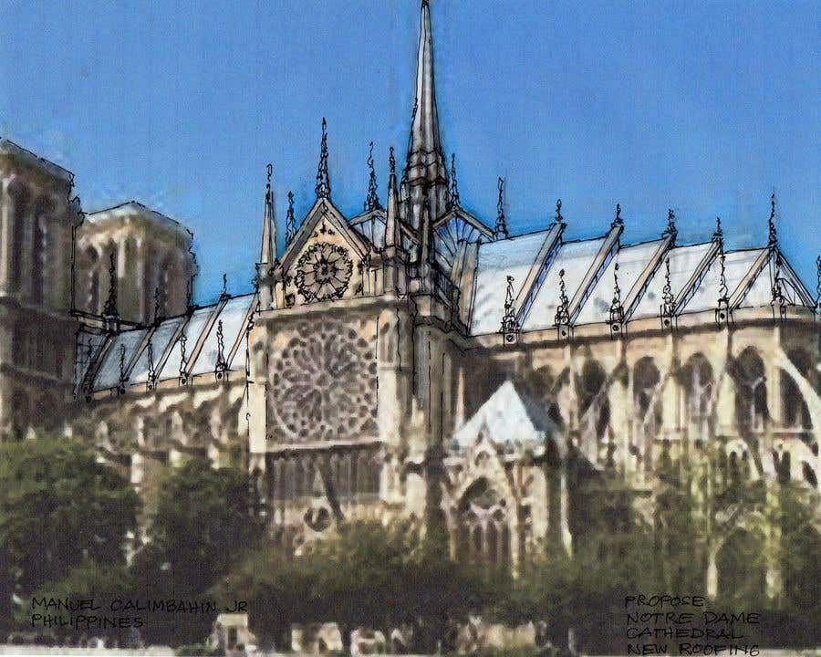 Contest Entry #                                        91                                      for                                         How would you rebuild the Notre-Dame Cathedral?