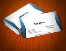 #35 para Business Card Design for MobeSeek de kzexo