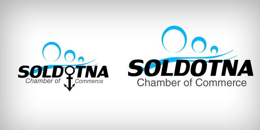 Proposition n°                                        35                                      du concours                                         Logo Design for Soldotna Chamber of Commerce