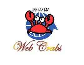 #40 for I need a logo design for website development company. Company name: Web Crabs. Need attractive and colourful logo for digital agency. by Asykinikin