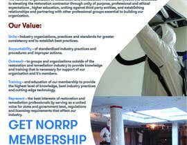 #111 untuk Create a membership informational flyer oleh iwantsahmed