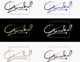 "#35 for Need a logo for a NOTEBOOK brand with name ""GURUKUL"" af Ejoselle"