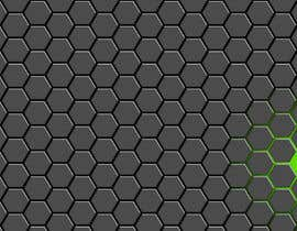 #70 for Backdrop: DARPA Black/Stylized Hexagon Pattern by airinbegumpayel