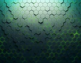 #80 for Backdrop: DARPA Black/Stylized Hexagon Pattern by airinbegumpayel