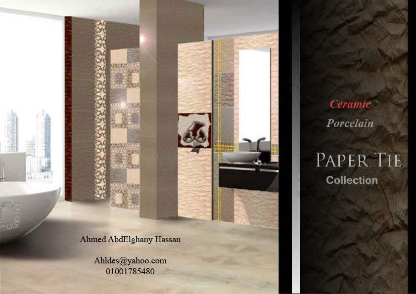 Konkurrenceindlæg #10 for Tile and ceramic designer