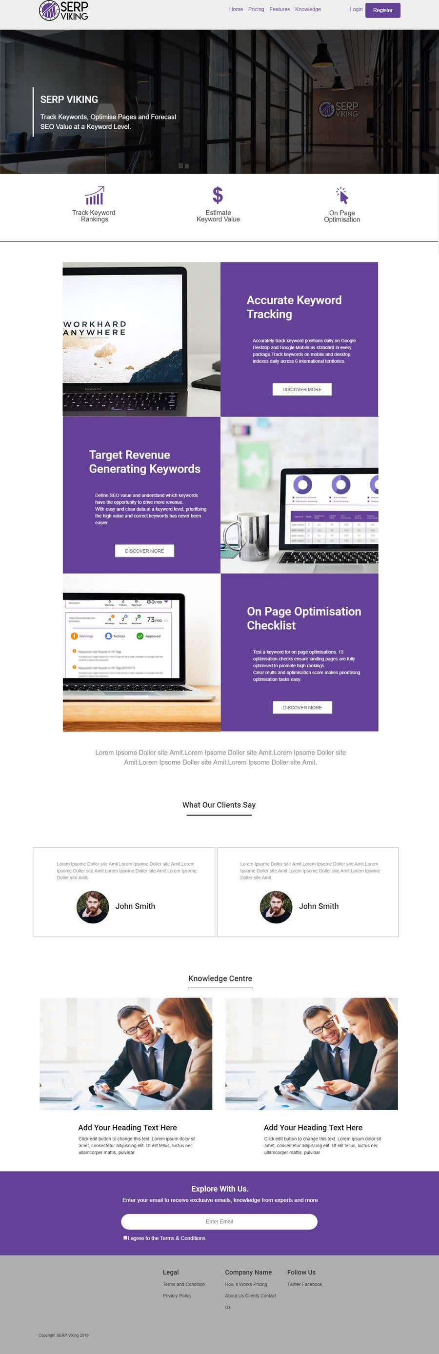 Entry #20 by mdsobuzchandar52 for Convert PSD in to HTML