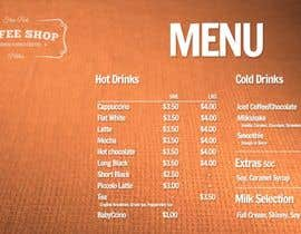 #17 para Create a menu for a coffee shop por hete