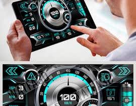 #2 для Graphic for motorcycle dashboard от Watfa3D