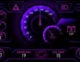 #10 cho Graphic for motorcycle dashboard bởi Watfa3D