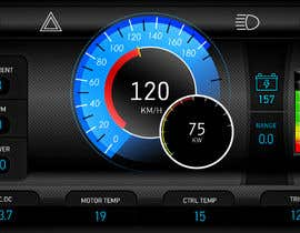 #12 cho Graphic for motorcycle dashboard bởi Watfa3D