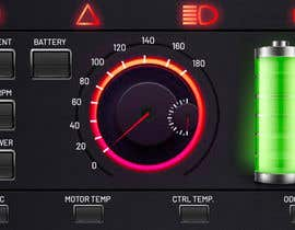 #14 для Graphic for motorcycle dashboard от vivekdaneapen
