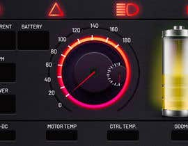 #17 cho Graphic for motorcycle dashboard bởi vivekdaneapen
