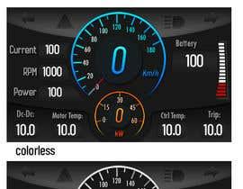 #26 для Graphic for motorcycle dashboard от Alexander7117