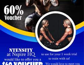 Nro 12 kilpailuun Design a voucher and a poster käyttäjältä adigrf