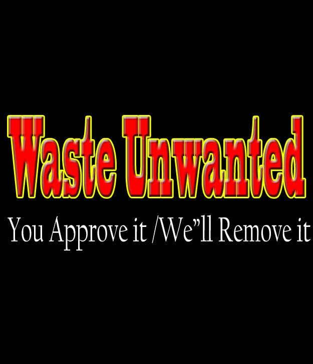 Penyertaan Peraduan #149 untuk Waste Unwanted