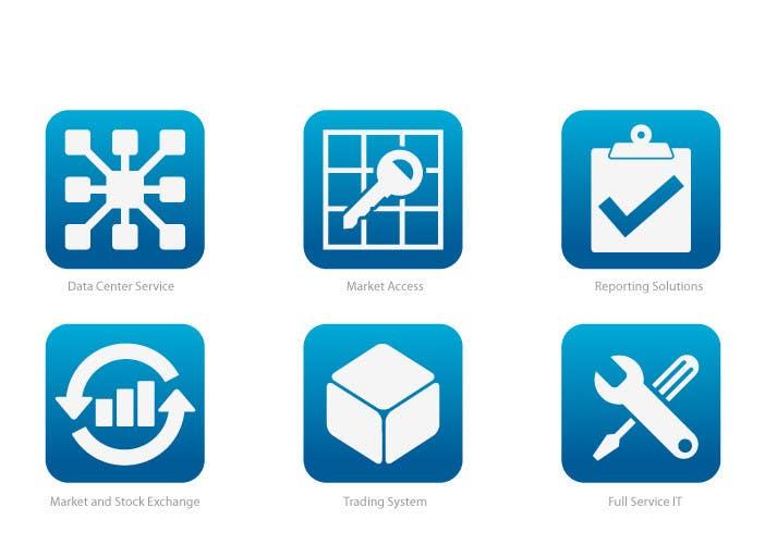 Inscrição nº 5 do Concurso para 6 Icons for IT Company