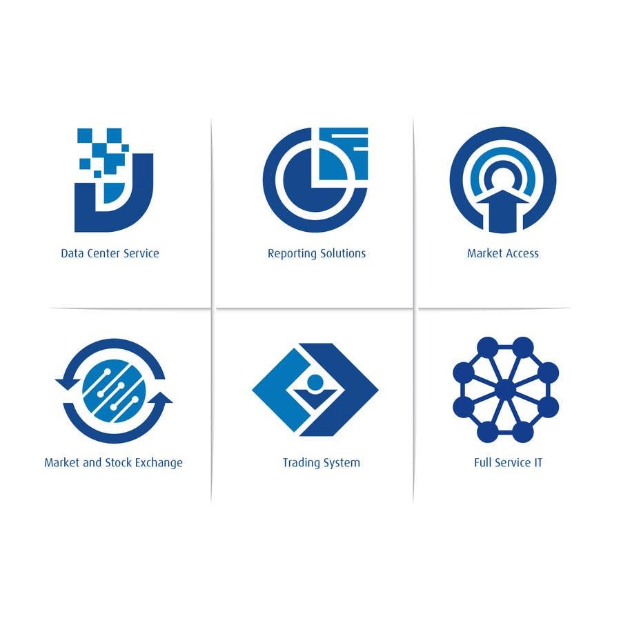 Inscrição nº 8 do Concurso para 6 Icons for IT Company