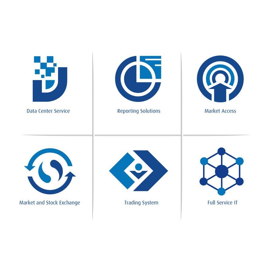 Inscrição nº 11 do Concurso para 6 Icons for IT Company