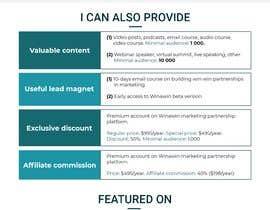 Nro 107 kilpailuun Unique website design with great UX käyttäjältä codetechservices