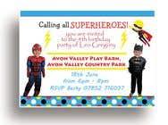 Proposition n° 8 du concours Graphic Design pour Create a superhero theme birthday invite