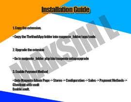 Nro 1 kilpailuun Make an Installation PDF - Need Fast käyttäjältä MaksimLu
